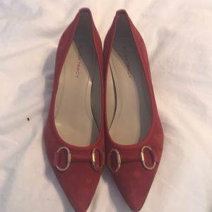61132c4295ee Ellen Tracy ET- Bogie Paprika Red Heels size 10